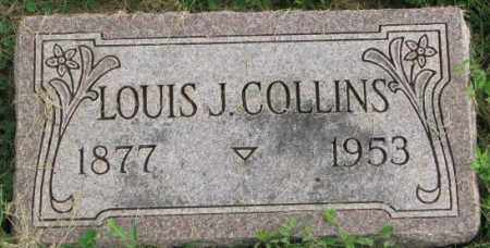 COLLINS, LOUIS J. - Dakota County, Nebraska | LOUIS J. COLLINS - Nebraska Gravestone Photos