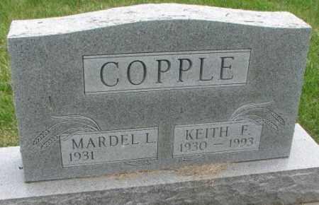 COPPLE, MARDEL L. - Dakota County, Nebraska | MARDEL L. COPPLE - Nebraska Gravestone Photos