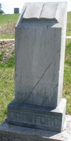 CRAWFORD, MAGGIE - Dakota County, Nebraska | MAGGIE CRAWFORD - Nebraska Gravestone Photos