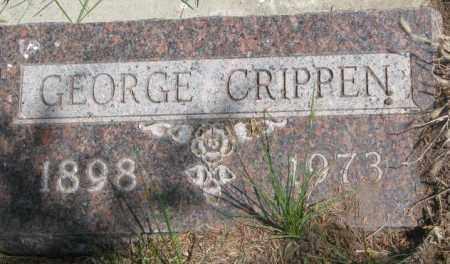 CRIPPEN, GEORGE - Dakota County, Nebraska | GEORGE CRIPPEN - Nebraska Gravestone Photos