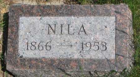 CRIPPEN, NILA - Dakota County, Nebraska | NILA CRIPPEN - Nebraska Gravestone Photos