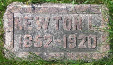 CRIPPEN, NEWTON L. - Dakota County, Nebraska | NEWTON L. CRIPPEN - Nebraska Gravestone Photos