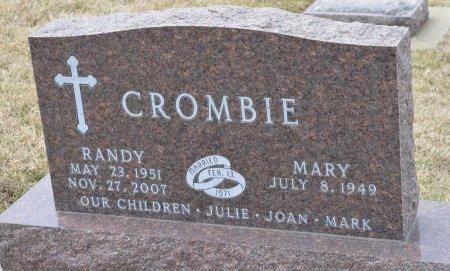CROMBIE, MARY - Dakota County, Nebraska | MARY CROMBIE - Nebraska Gravestone Photos