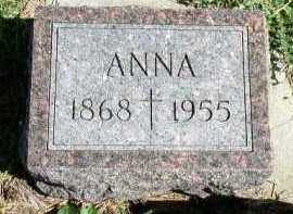 CROSBY, ANNA - Dakota County, Nebraska | ANNA CROSBY - Nebraska Gravestone Photos