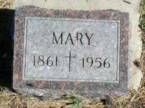 CROSBY, MARY - Dakota County, Nebraska   MARY CROSBY - Nebraska Gravestone Photos