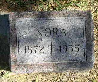 CROSBY, NORA - Dakota County, Nebraska | NORA CROSBY - Nebraska Gravestone Photos