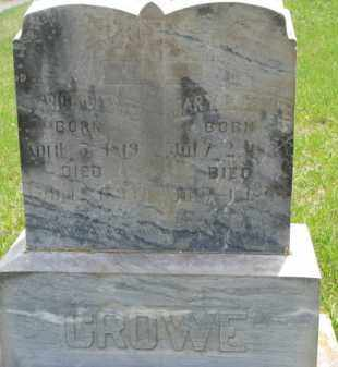 CROWE, PATRICK - Dakota County, Nebraska | PATRICK CROWE - Nebraska Gravestone Photos