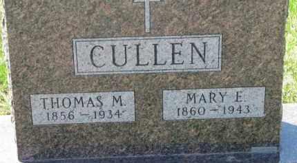 CULLEN, MARY E. - Dakota County, Nebraska | MARY E. CULLEN - Nebraska Gravestone Photos