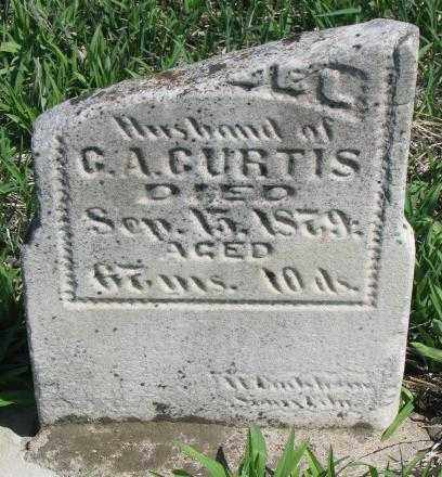 CURTIS, UNKNOWN - Dakota County, Nebraska   UNKNOWN CURTIS - Nebraska Gravestone Photos