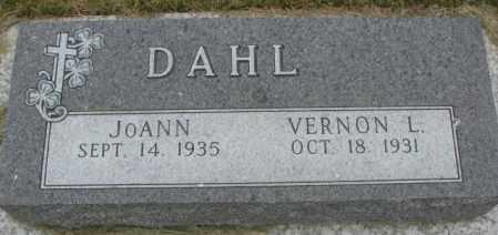 DAHL, JOANN - Dakota County, Nebraska | JOANN DAHL - Nebraska Gravestone Photos
