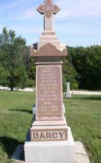 DARCY, FRANK J. - Dakota County, Nebraska   FRANK J. DARCY - Nebraska Gravestone Photos