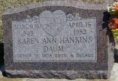 DAUM, KAREN ANN - Dakota County, Nebraska | KAREN ANN DAUM - Nebraska Gravestone Photos