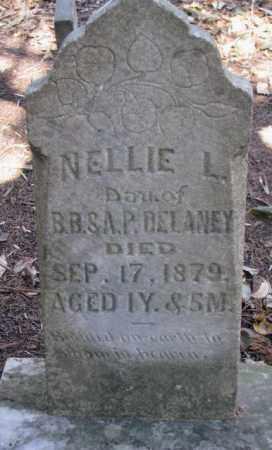 DELANEY, NELLIE L. - Dakota County, Nebraska | NELLIE L. DELANEY - Nebraska Gravestone Photos