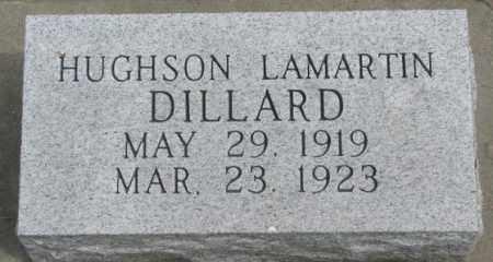 DILLARD, HUGHSON LAMARTIN - Dakota County, Nebraska   HUGHSON LAMARTIN DILLARD - Nebraska Gravestone Photos