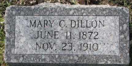 DILLON, MARY C. - Dakota County, Nebraska | MARY C. DILLON - Nebraska Gravestone Photos