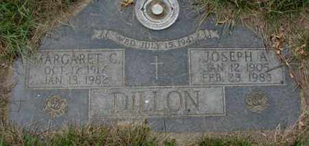 DILLON, JOSEPH A. - Dakota County, Nebraska | JOSEPH A. DILLON - Nebraska Gravestone Photos