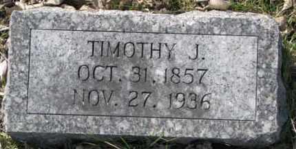 DILLON, TIMOTHY J. - Dakota County, Nebraska | TIMOTHY J. DILLON - Nebraska Gravestone Photos