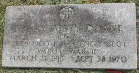 DOANE, HARRY ALVIN - Dakota County, Nebraska | HARRY ALVIN DOANE - Nebraska Gravestone Photos