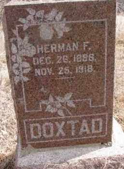 DOXTAD, HERMAN F. - Dakota County, Nebraska | HERMAN F. DOXTAD - Nebraska Gravestone Photos