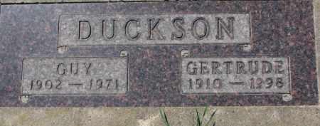 DUCKSON, GUY - Dakota County, Nebraska | GUY DUCKSON - Nebraska Gravestone Photos