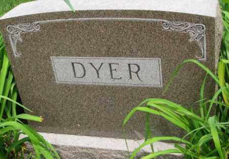 DYER, PLOT - Dakota County, Nebraska | PLOT DYER - Nebraska Gravestone Photos