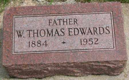 EDWARDS, W. THOMAS - Dakota County, Nebraska | W. THOMAS EDWARDS - Nebraska Gravestone Photos