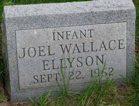 ELLYSON, JOEL WALLACE - Dakota County, Nebraska   JOEL WALLACE ELLYSON - Nebraska Gravestone Photos