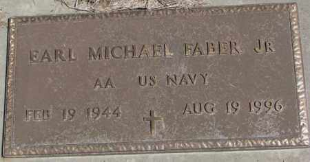 FABER, EARL MICHAEL JR. (MILITARY) - Dakota County, Nebraska | EARL MICHAEL JR. (MILITARY) FABER - Nebraska Gravestone Photos
