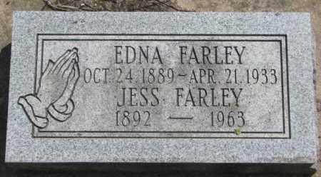 FARLEY, JESS - Dakota County, Nebraska | JESS FARLEY - Nebraska Gravestone Photos