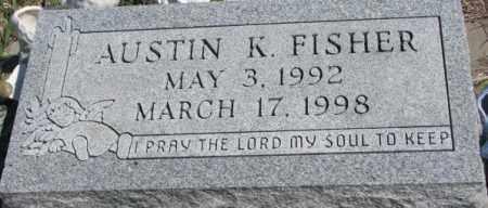 FISHER, AUSTIN K. - Dakota County, Nebraska | AUSTIN K. FISHER - Nebraska Gravestone Photos