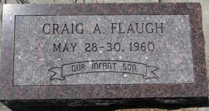 FLAUGH, CRAIG A. - Dakota County, Nebraska | CRAIG A. FLAUGH - Nebraska Gravestone Photos