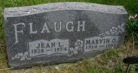 FLAUGH, MARVIN O. - Dakota County, Nebraska | MARVIN O. FLAUGH - Nebraska Gravestone Photos
