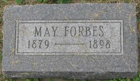 FORBES, MAY - Dakota County, Nebraska | MAY FORBES - Nebraska Gravestone Photos