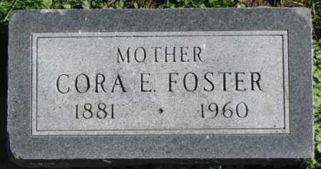 FOSTER, CORA E. - Dakota County, Nebraska | CORA E. FOSTER - Nebraska Gravestone Photos