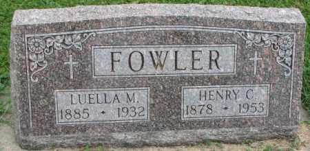 FOWLER, HENRY C. - Dakota County, Nebraska | HENRY C. FOWLER - Nebraska Gravestone Photos