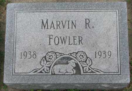 FOWLER, MARVIN R. - Dakota County, Nebraska | MARVIN R. FOWLER - Nebraska Gravestone Photos