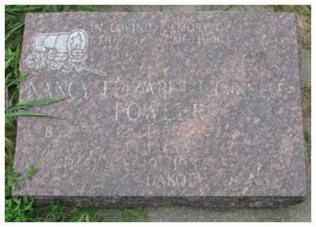 TINNELL FOWLER, NANCY ELIZABETH - Dakota County, Nebraska | NANCY ELIZABETH TINNELL FOWLER - Nebraska Gravestone Photos