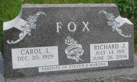 FOX, CAROL L. - Dakota County, Nebraska | CAROL L. FOX - Nebraska Gravestone Photos