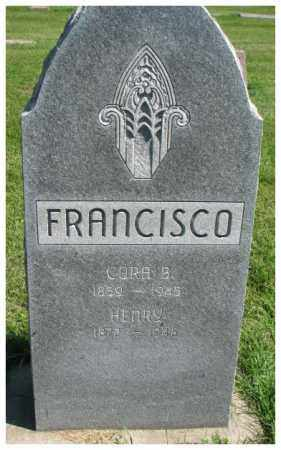 FRANCISCO, CORA B. - Dakota County, Nebraska | CORA B. FRANCISCO - Nebraska Gravestone Photos