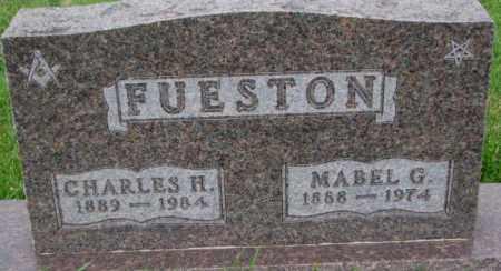 FUESTON, CHARLES H. - Dakota County, Nebraska | CHARLES H. FUESTON - Nebraska Gravestone Photos