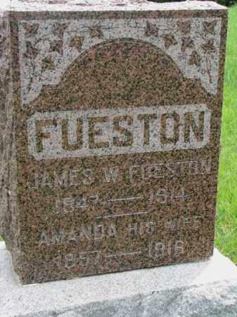 FUESTON, AMANDA - Dakota County, Nebraska | AMANDA FUESTON - Nebraska Gravestone Photos