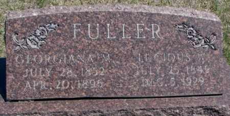 FULLER, LUCIOUS W. - Dakota County, Nebraska | LUCIOUS W. FULLER - Nebraska Gravestone Photos