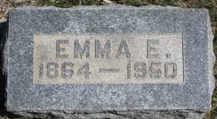 GALLAGHER, EMMA E. - Dakota County, Nebraska | EMMA E. GALLAGHER - Nebraska Gravestone Photos