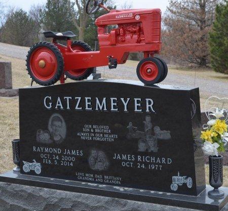 GATZEMEYER, RAYMOND JAMES - Dakota County, Nebraska | RAYMOND JAMES GATZEMEYER - Nebraska Gravestone Photos