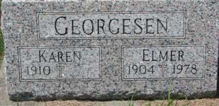 GEORGESEN, KAREN - Dakota County, Nebraska | KAREN GEORGESEN - Nebraska Gravestone Photos