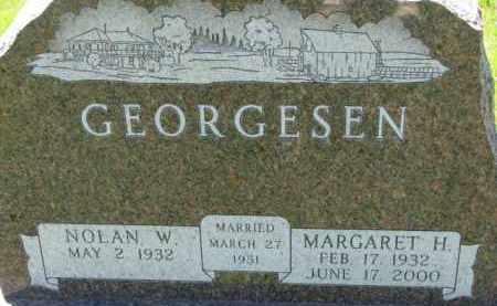 GEORGESEN, NOLAN W. - Dakota County, Nebraska | NOLAN W. GEORGESEN - Nebraska Gravestone Photos