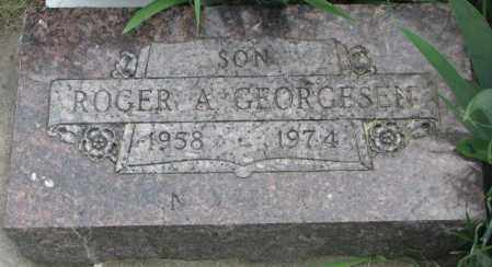 GEORGESEN, ROGER A. - Dakota County, Nebraska | ROGER A. GEORGESEN - Nebraska Gravestone Photos