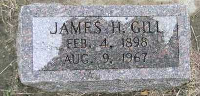 GILL, JAMES H. - Dakota County, Nebraska | JAMES H. GILL - Nebraska Gravestone Photos