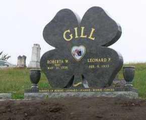 GILL, ROBERTA (BERT) - Dakota County, Nebraska | ROBERTA (BERT) GILL - Nebraska Gravestone Photos