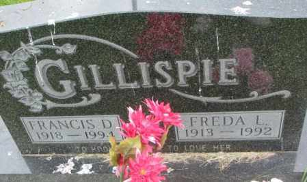 GILLISPIE, FREDA L. - Dakota County, Nebraska | FREDA L. GILLISPIE - Nebraska Gravestone Photos
